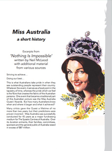 The Miss Australia Story
