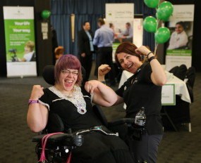 Hunter disability community leading light in Australia's disability sector