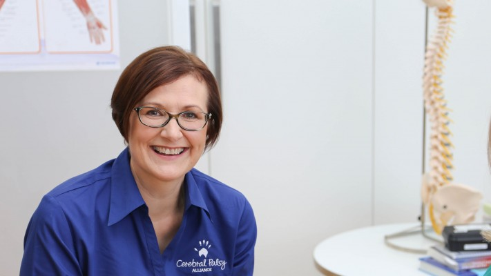 Occupational Therapist Helen Stone who features in our TV commercial