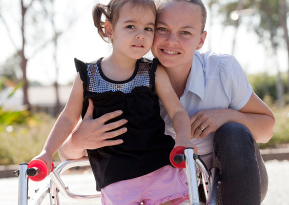 Two million reasons to smile for Western Sydney pre-schooler with cerebral palsy