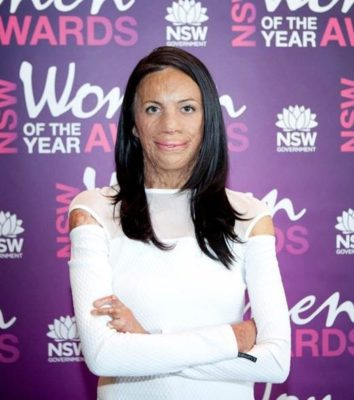 Turia Pitt at NSW Women of the Year Awards