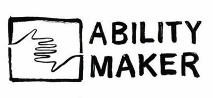 Signage saying Ability Maker