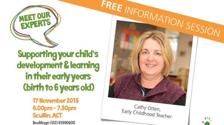 Meet our expert session information with photo of Cathy Otten