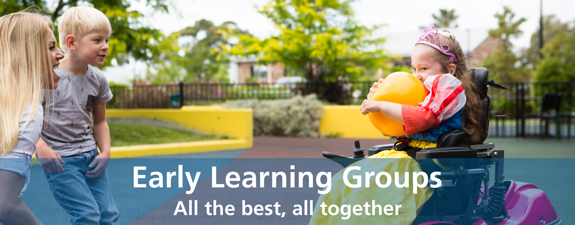 Early Learning Groups - All the best, all together